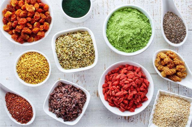 Alimentos ricos en antioxidantes de forma natural.