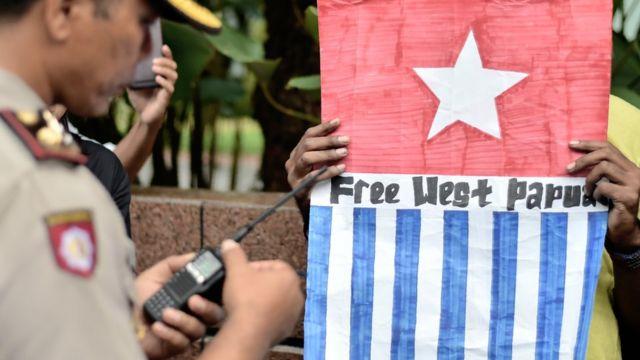 Aksi protes Papua