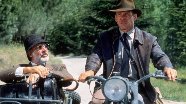 Harrison Ford y Sean Connery