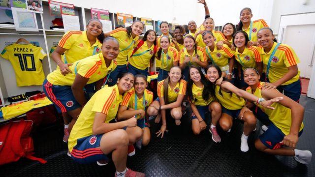 Colombia participó en el último mundial sub17 bajo las órdenes de Luna.