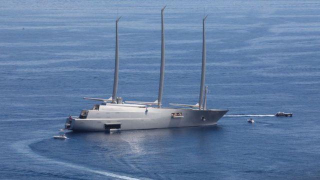 超级富豪定制的超级豪华游艇制造过程相当保密(GETTY IMAGES)