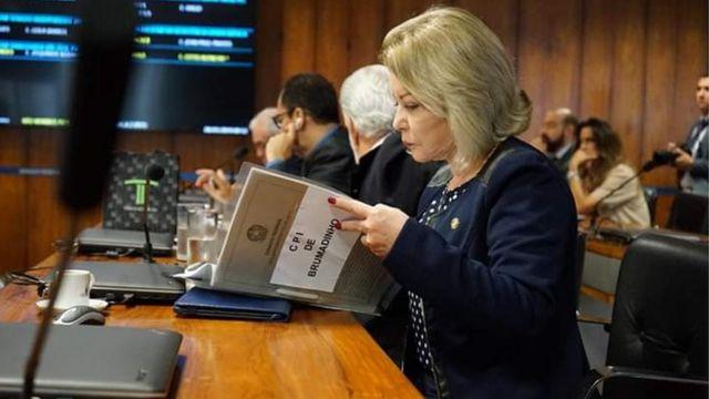 Selma Arruda no Senado