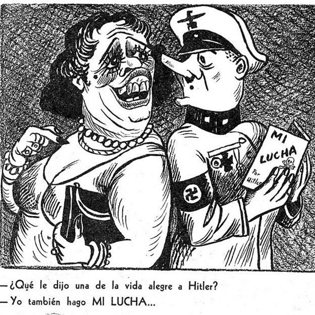 Caricatura anti-fascista
