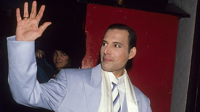 Freddie Mercury en 1990