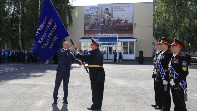 Полпред Беглов 10 лет занимался казачеством, потому что так велел президент. Сентябрь 2017 г.
