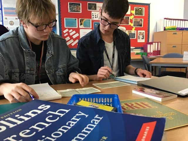Language learning: German and French drop by half in UK schools