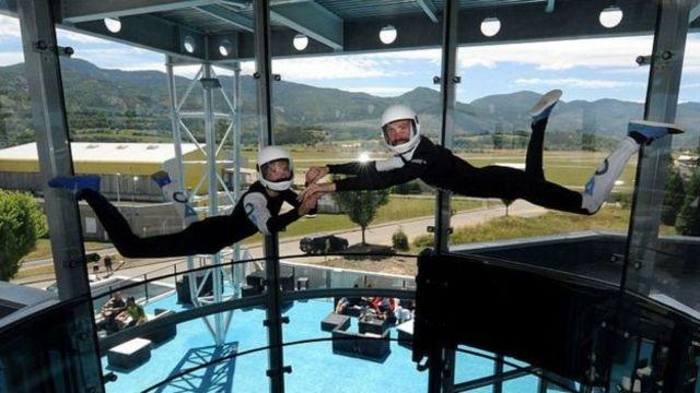 тренировка парашютистов