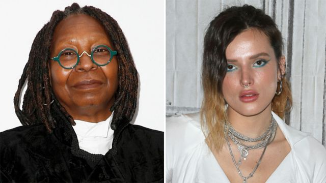 Bella Thorne: Whoopi Golberg's naked photo comments 'disgusting'