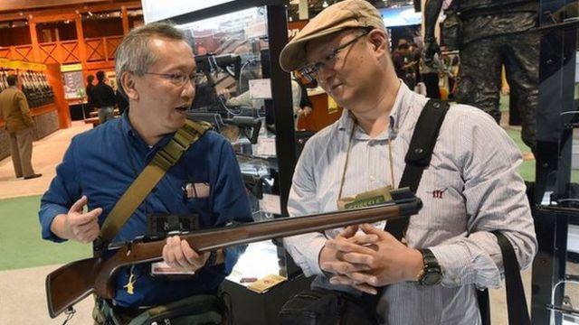 มหกรรมปืนที่ญี่ปุ่น