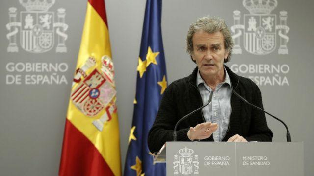 Fernando Simón, director del Centro de Coordinación de Emergencias y Alertas Sanitarias.