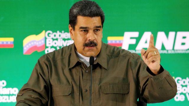 Predsednik Venecuele Nikolas Maduro