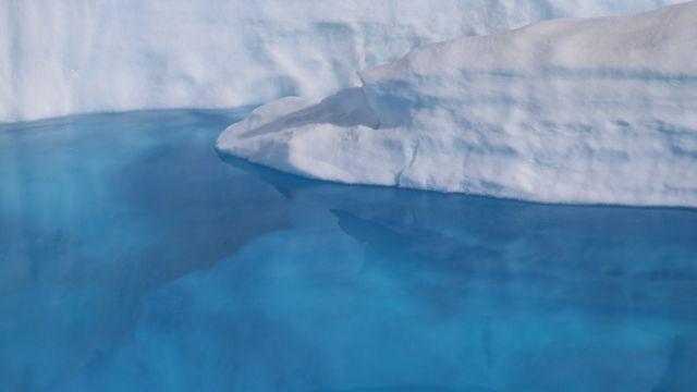 Gelo na Groenlândia