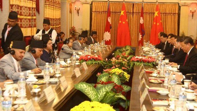 नेपाल चीन
