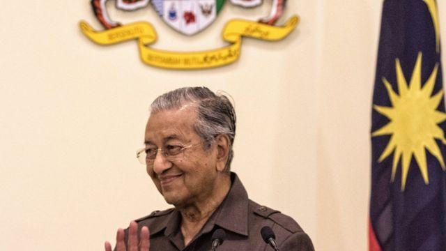 馬來西亞總理馬哈蒂爾
