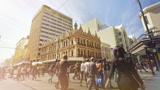 Mji wa Australia wa Adelaide