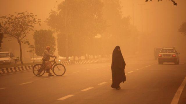 ریزگردها در ایران