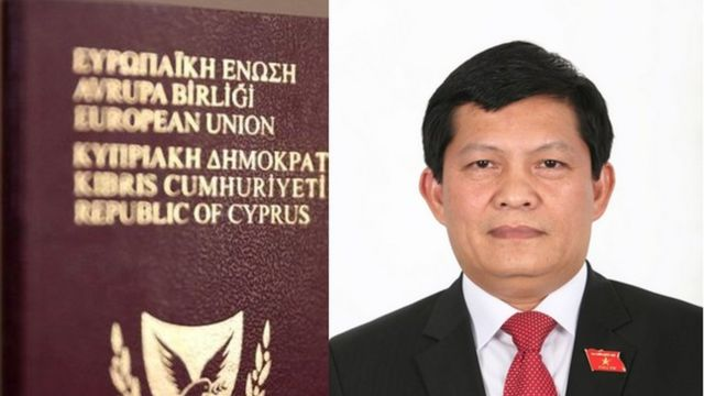 Phạm Phú Quốc, Cyprus passport
