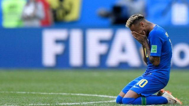 Neymar llora.