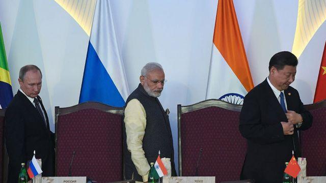 रूस, चीन और भारत