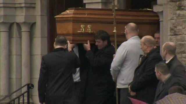 Gerard Bradley funeral