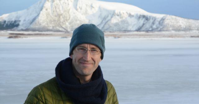 Robert Macfarlane en Noruega.