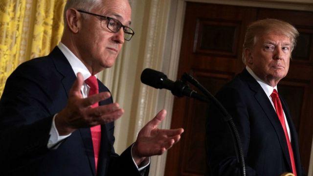 澳大利亚前总理特恩布尔表示,特朗普有让人吃惊的能力。