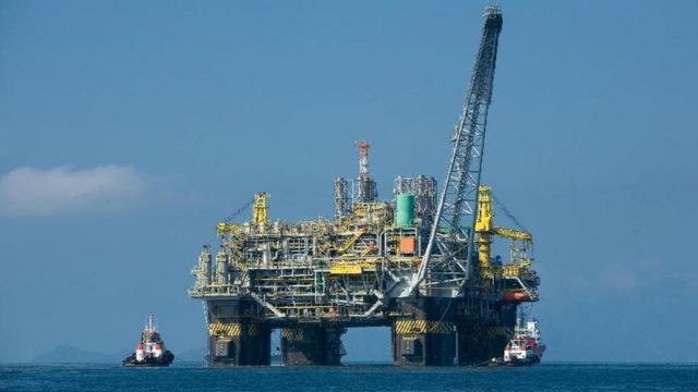 Plataforma da Petrobras