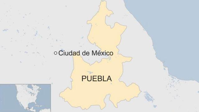 Puebla, en el centro de México
