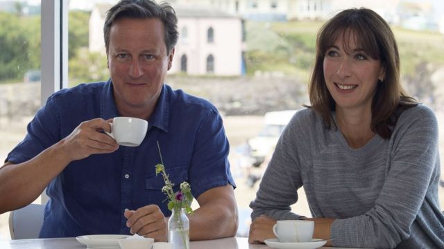 Samantha Cameron: Son's death 'overshadows everything'