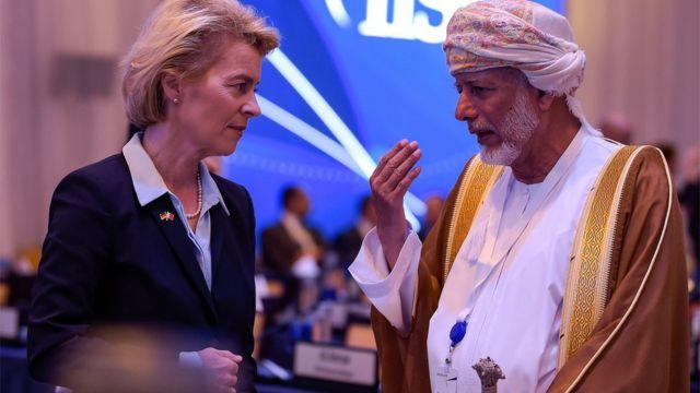 جرمنی اور بحرین کے وزرائے خارجہ