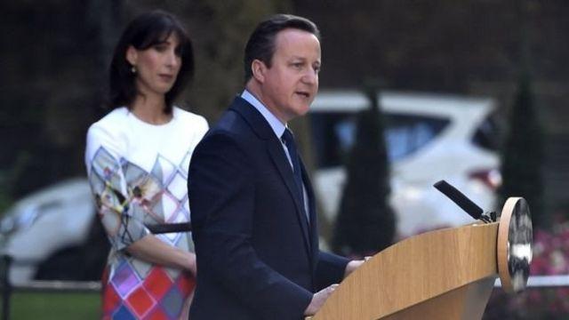 Premiê David Cameron anunciou que renunciará em outubro