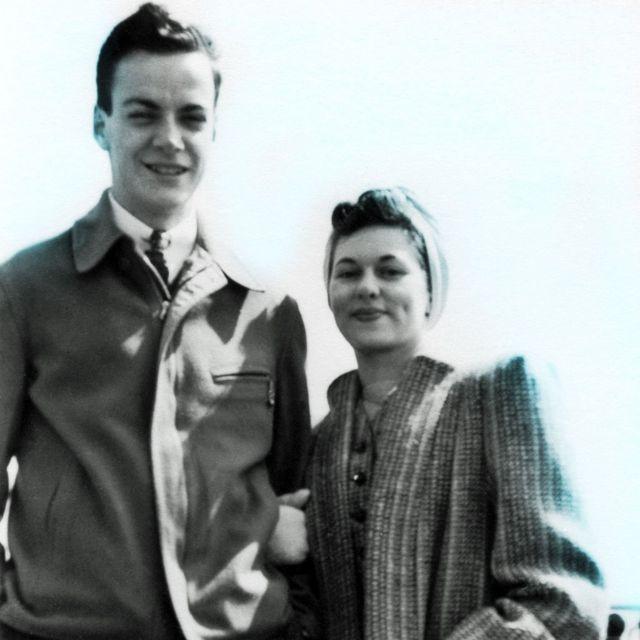 Richard y Arline Feynman