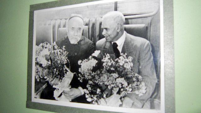 صدرالدین عینی و ابولقاسم لاهوتی