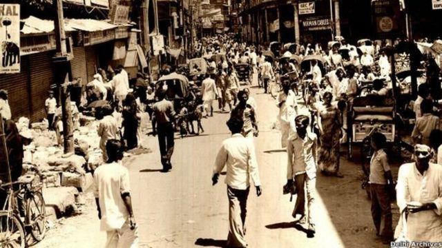 पुरानी दिल्ली की एक तस्वीर