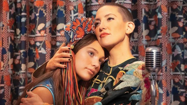 Maddie Ziegler and Kate Hudson are the stars of the film.