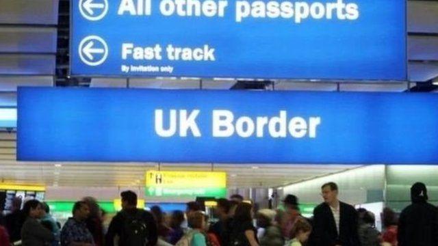 英国移民控制