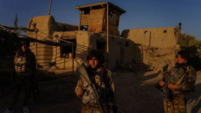 Fuerzas afganas