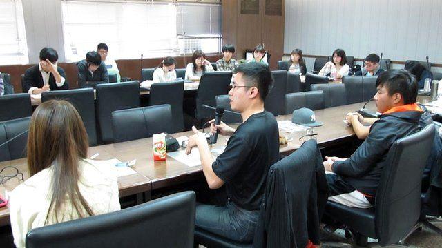 """很多台湾的年轻学者认为在台湾是""""有志难伸"""",希望能够有更好的教学环境。"""