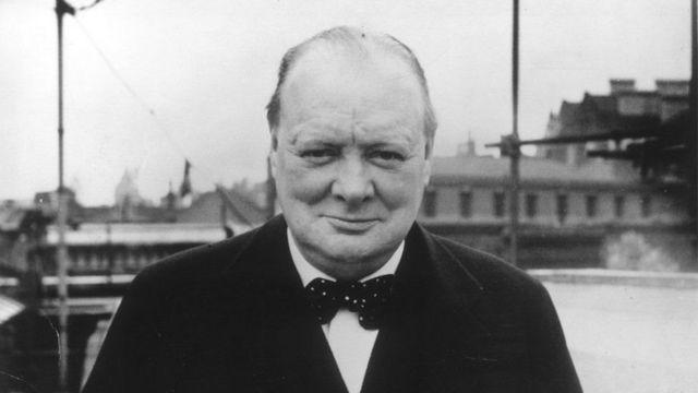 Уинстон Черчилль в 1939 году