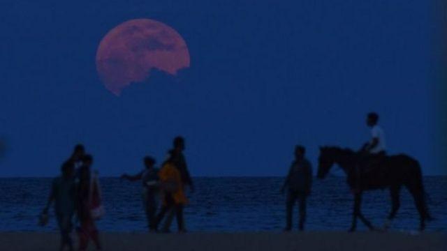 चेन्नई में पूरा चांद