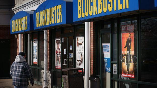 Tienda de Blockbuster