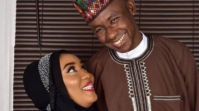 Ishaq Sidi Ishaq and wife