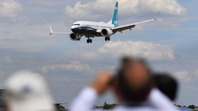 737 Мах на авиасалоне Фарнборо