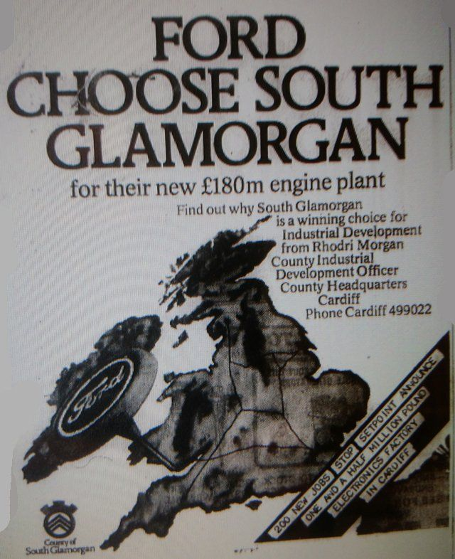 South Glamorgan jobs advert