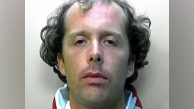 Police mugshot of Matthew Daley