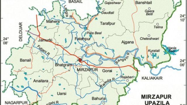 মির্জাপুর উপজেলার মহেরা ইউনিয়ন