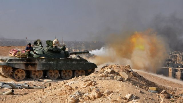 Syrian army attacks Deir al-Zour