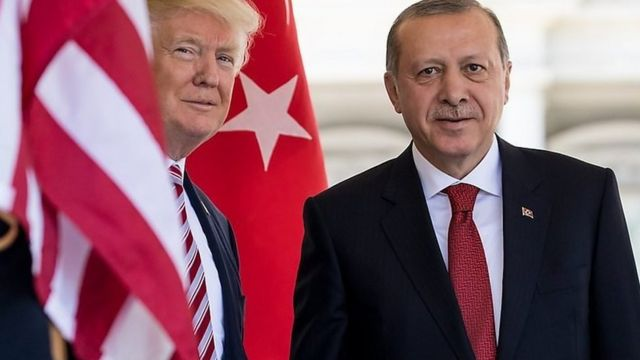صدر ٹرمپ، صدر اردوغان