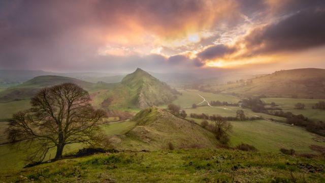 Chrome Hill, in Derbyshire's Peak District