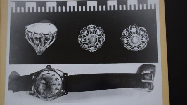 Накит и са пронађени на телу